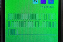 Программа для STM32 для отображения на экране вида сигнала, с сенсорным управлением